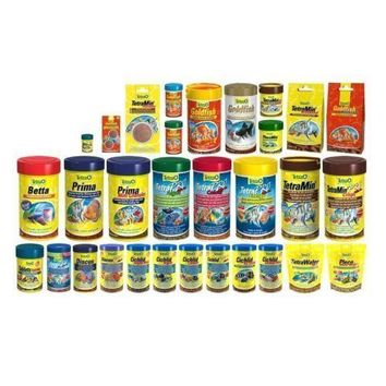 Tetra Fish Food All in One Listing Food for Gold Fish Guppy Small Tropical Fish Discus Rubin Multi Walfer for Alage Energy Color