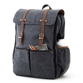 PRE-ORDER CARRYALL Moms & Dads Diaper Bag / Green Canvas