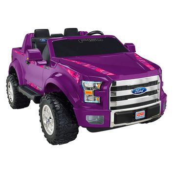 Power Wheels® Ford F-150—Purple Camo - Shop Power Wheels Ride On Cars & Trucks | Fisher-Price