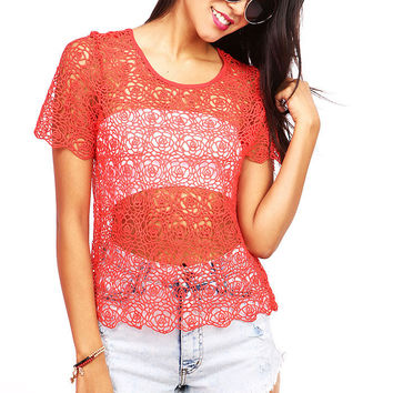 Rose Chant Top