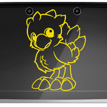 Final Fantasy Fables Chocobo's Dungeon Chocobo 3ds or 3ds XL Decal