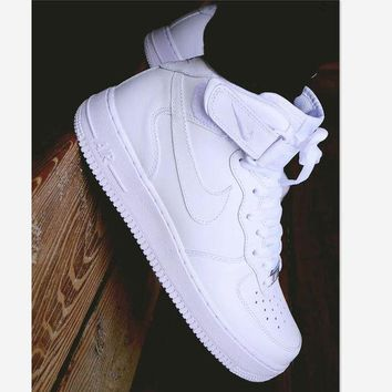 NIKE Air force Fashion Women Men Casual Running Sport Casual Shoes Sneakers High Help And Low Help Shoes HIGH QUALITY
