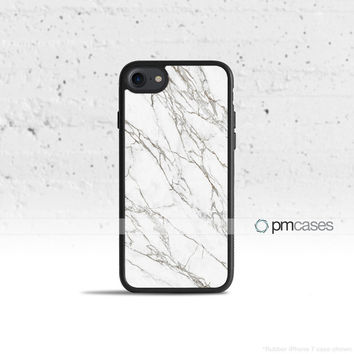 Black & White Marble Case Cover for Apple iPhone 7 6s 6 SE 5s 5 5c 4s 4 Plus & iPod Touch