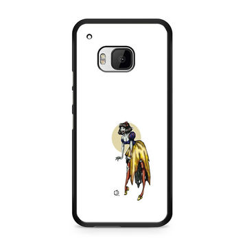 Zombie Princess Abstract HTC One M9 Case
