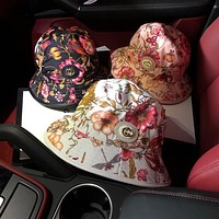 """Gucci"" Women Fashion Temperament Flower Fisherman Cap Casual Sun Hat"