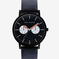 Round dial watch - Black | New Arrivals | Ted Baker