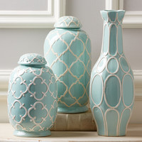 Belle Isle Decorative Jars Set