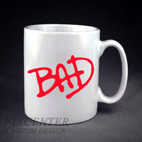 BAD tribute MiCHAEL JACKSON Personalized mug/cup