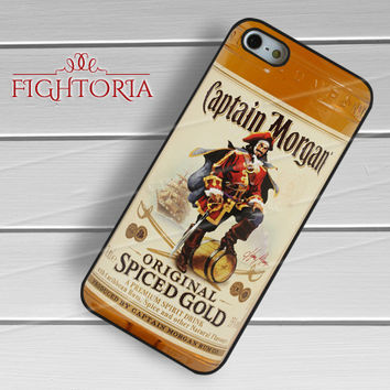 Rum Captain Morgan Spiced Gold Bottle - zzD for  iPhone 4/4S/5/5S/5C/6/6+s,Samsung S3/S4/S5/S6 Regular/S6 Edge,Samsung Note 3/4