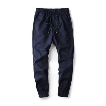 Tide brand Supreme men 's casual pants Harlan pants men trousers jogging pants feet pa