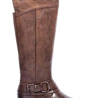 Brown Tall Riding Boot