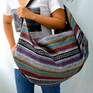 Nepali Hippie Shoulder Bag, Gypsy, Boho, Hobo, Backpack, Tote, Crossbody, Diaper bag, Handbag, Purse NEPSB200