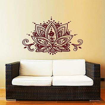 Flower Ornament wall sticker new design F44