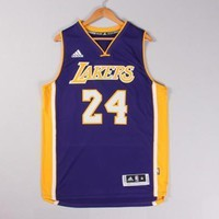 Adidas Kobe Bryant Men¡¯s Jersey NBA Los Angeles Lakers #24