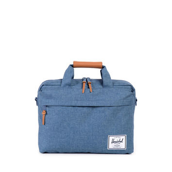 Herschel Supply Co. Clark Messenger Bag Navy Crosshatch