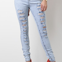 Shred Machine High Waisted Jeans
