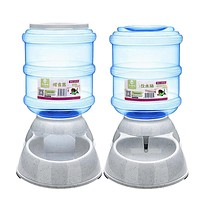 pet feeder dog automatic food water feeder pet bowl water bowl for dog cat dog drinker automatic food bowl 3 5l pet products