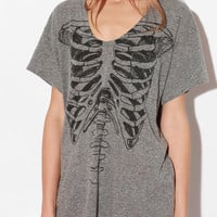Urban Outfitters - Truly Madly Deeply Pocket Skeletee Tee