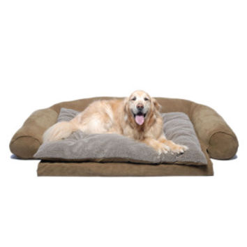 Carolina Pet Personalized Orthopedic Comfort Couch Pet Bed