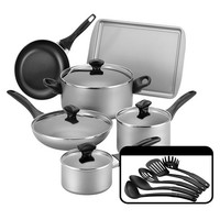 Farberware 15 Piece Cookware Set - Champagne