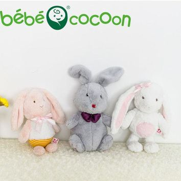 DCCKL3Z Bebecocoon 2017 Fullfy Bunny Animal Soft Plush Toys Sleeping Mate Stuffed & Plush Animals 32cm/36cm Kids Toys For Girls Gifts