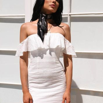 Buy Our Jay Dress in White Online Today! - Tiger Mist