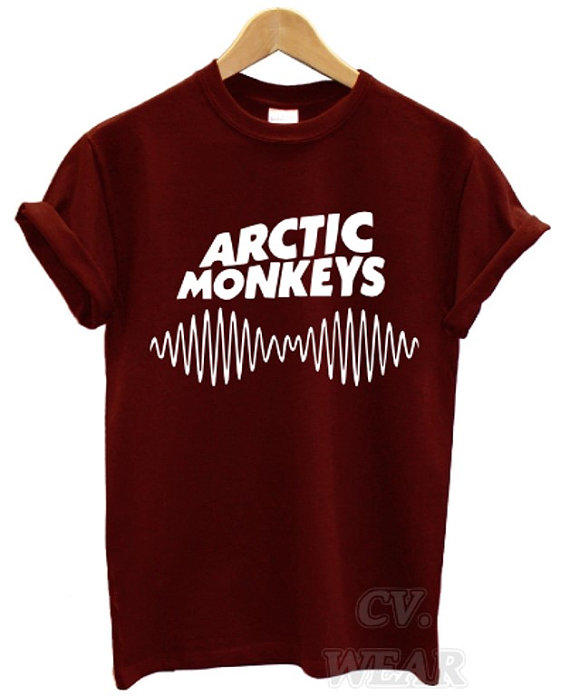 Arctic Monkeys Merch Etsy Cardigan With Buttons