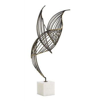 Arteriors Home Cai Iron/Marble Sculpture - Arteriors Home 3109