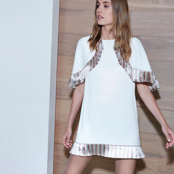 Alexis Thierry Short Dress in Off White