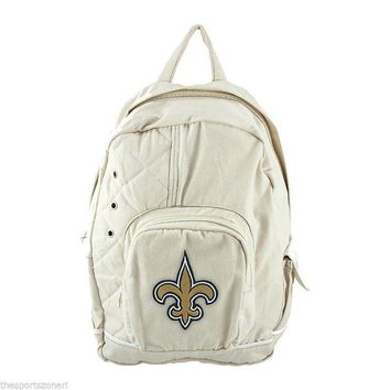 New Orleans Saints Natural Old School Backpack