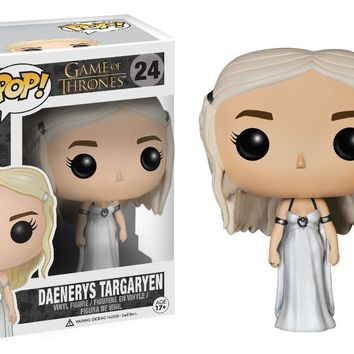 Funko - Pop Game of Thrones Daenerys Targaryen Weddiing Dress Figure Gift a F01