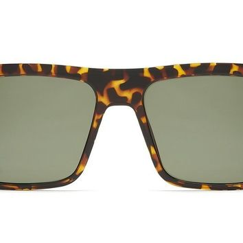 Quay Let It Run Tortoise Sunglasses / Green Lenses