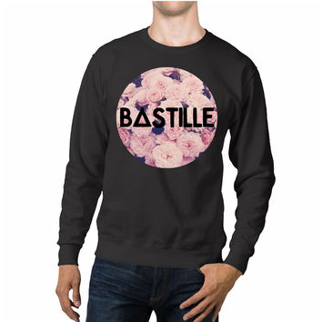 Bastille Floral Vintage Unisex Sweaters - 54R Sweater