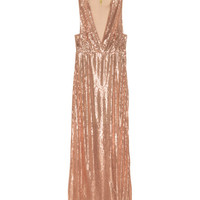 H&M Sequined Maxi Dress $29.99
