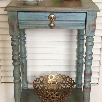 Vintage 1940s Nightstand/Side Table