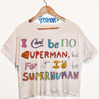 SuperHuman Crop Shirt