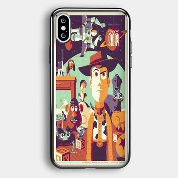 Toys Story Woody Film Art Disney Poster iPhone XS Case | Casefruits
