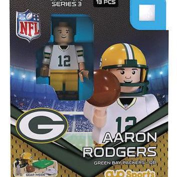 AARON RODGERS GREEN BAY PACKERS G3LE OYO MINIFIGURE BRAND NEW  SHIPPING