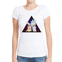 Rick And Morty Women's Graphic Tee