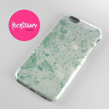 iPhone 6 case, iPhone 6 Plus case, iPhone 5 Case, iPhone 5s Case, iPhone 5C case, apple iphone case, samsung s5 case, mint green, marble