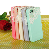 Cute Pearl & Lace iPhone 4 4S Case