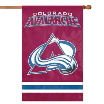 Colorado Avalanche NHL Applique Banner Flag
