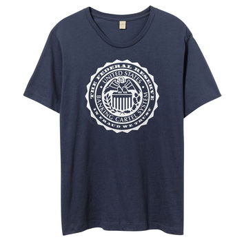 Federal Reserve Vulture Seal Vintage Tees