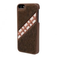 POWER A CPFA100405 Star Wars Chewbacca Collector Case for iPhone 5 - 1 Pack - Retail Packaging - Brown