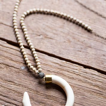 The Colby Necklace, Cream | BPD