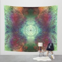 ABSTRACTION no10 Wall Tapestry by Pia Schneider [atelier COLOUR-VISION]