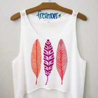 Feathers Crop top