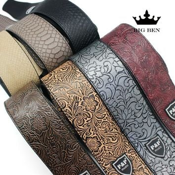 PPMusic®  Adjustable Guitar Strap Cool Snake Skin Style