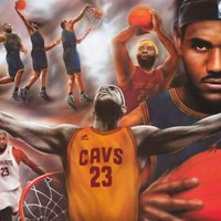 LeBron James Cleveland Cavs Basketball Poster 24x36