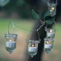 Kandelini - glass bell tea light holders ? Cox & Cox, the difference between house and home.